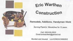 Eric Warthen Construction