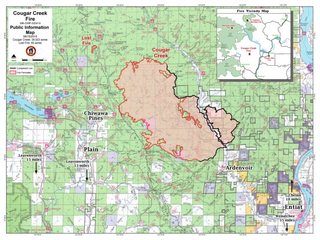 Cougar Creek Fire Links